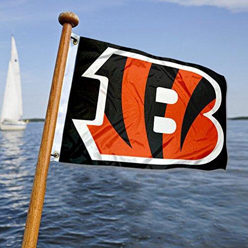 - Cincinnati Bengals Boat and Golf Cart Flag