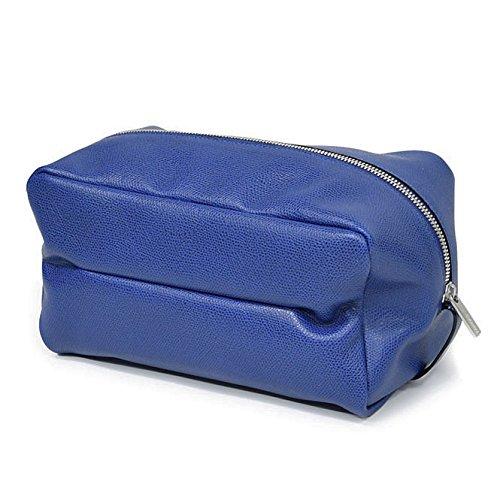 [VALEXTRA(ヴァレクストラ)] メンズクラッチバッグ/セカンドバッグ V6A68 028 ロイヤルブルー [並行輸入品] B072R34SRT