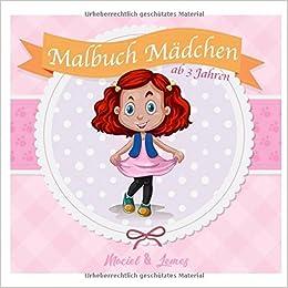 Malbuch Mädchen Ab 3 Jahren Die Schönsten Ausmalbilder Mit