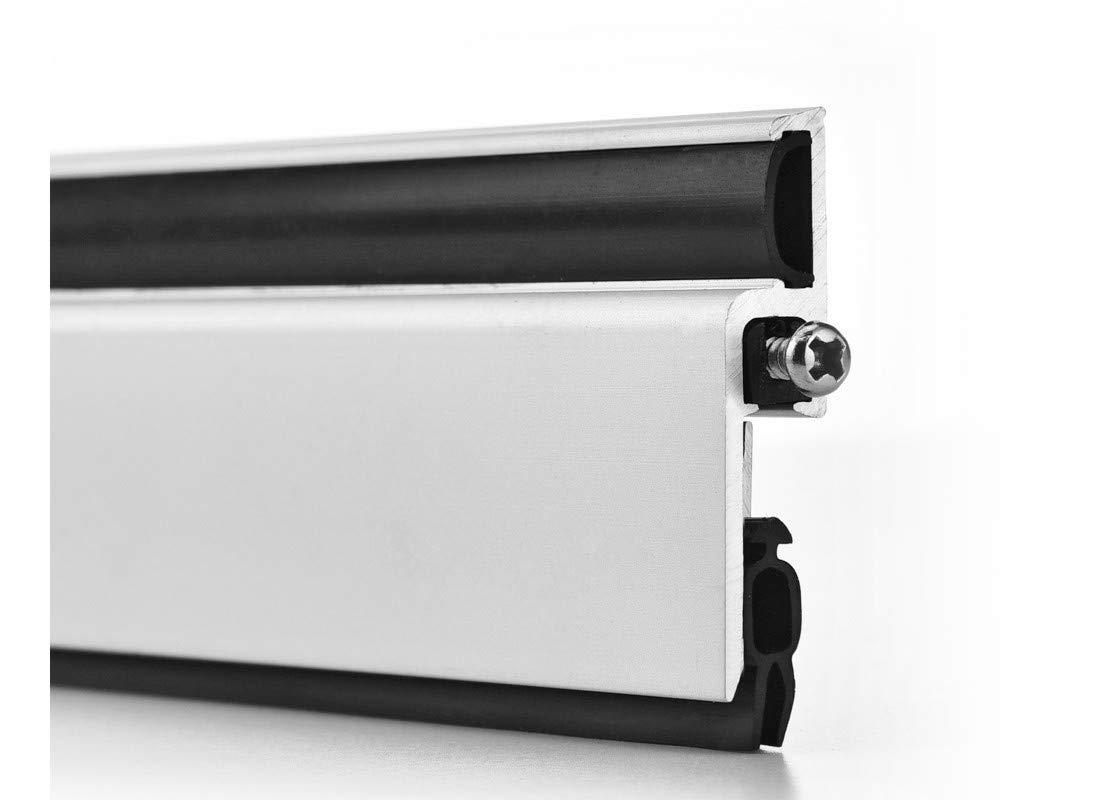 Lizavo DBS-001 Aluminum Automatic Door Bottom Seal, Surface Mounted