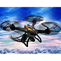 K&A Company CX-35 4CH 2.4G 6-axis Gyro RC 5.8G FPV Quadcopter with 2.0MP HD Camera Orange