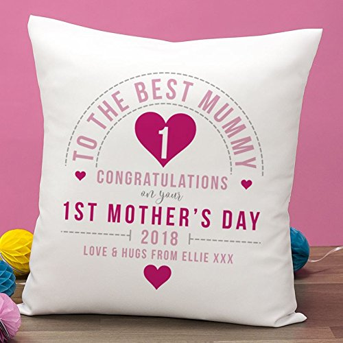 The Gift Experience Personalised First Mothers Day Cushion