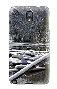 Hot New Snow Forest Photography R People Photography Case Cover For Galaxy Note 3 With Perfect Design 8475815K90627543