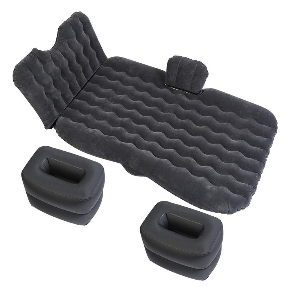 Dbtxwd Tragbare Aufblasbare Matratze, Reise-Auto-Rücksitz-Luftkissen Im Freien Eingeweiht Für Schlaf-Rest und Grünraute Bewegung