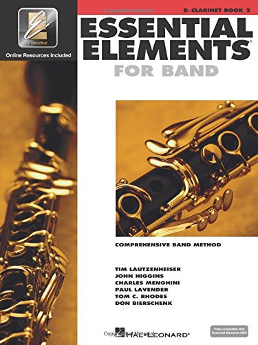 B-flat Clarinet Music Book - Essential Elements 2000: Comprehensive Band Method, Bb Clarinet Book 2