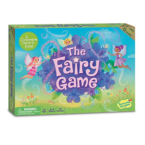 Peaceable Kingdom The Fairy Game Award Winning Cooperative Game of Logic and Luck for Kids by Peaceable Kingdom