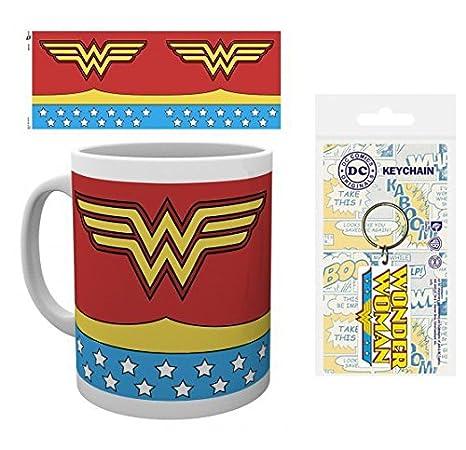 1art1® Set: Wonder Woman, Costume, DC Comics Taza Foto (9x8 ...