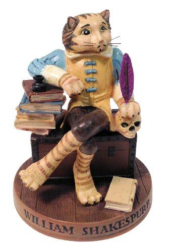 Ertl Collectibles Cat Hall of Fame William Shakespurr Figurine - 4