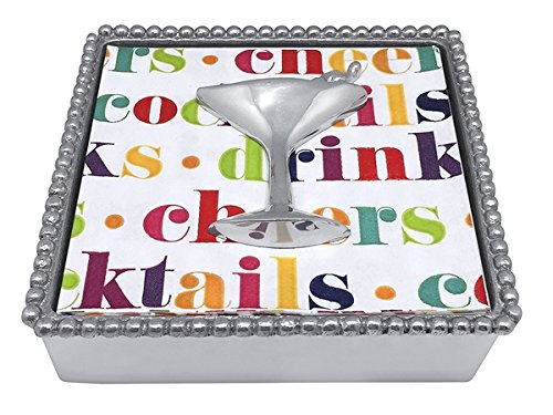 - Mariposa Cocktail Beaded Napkin Box