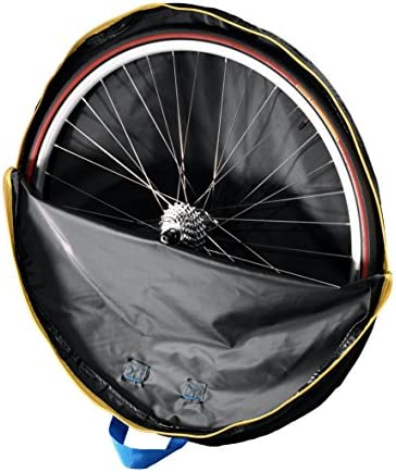 B W International B W 28in Bike Wheel Guard Light Padding Bag Bicycle Wheel Cover