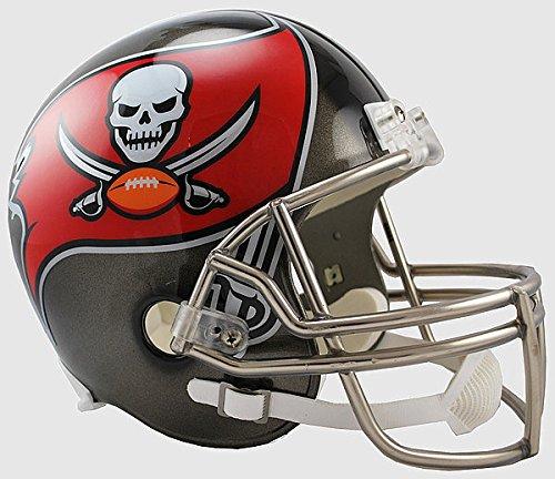 Riddell NFL Tampa Bay Buccaneers Replica Vsr4 Full Size Football Helmet (Helmet Football Tampa Bay Replica Buccaneers)