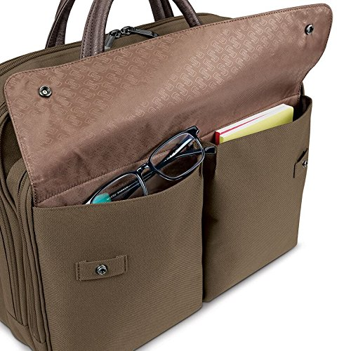 Solo Rucker 15.6 Inch Laptop Briefcase, Khaki by SOLO (Image #3)