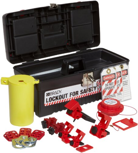 Brady Personal Electrical Lockout Toolbox