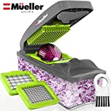 Mueller Onion Chopper Pro Vegetable Chopper - Strongest - NO MORE TEARS 30% Heavier Duty Multi...