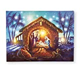Collections Etc Lighted Wall Canvas Art with