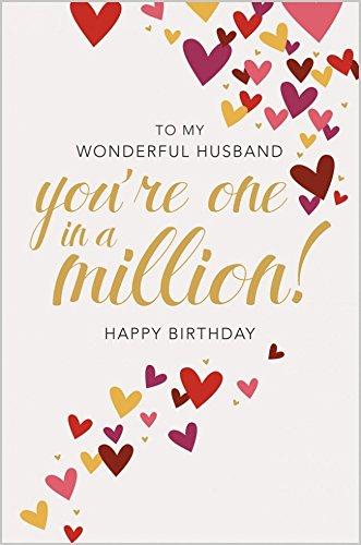 Lovely colorido maravilloso marido eres uno en un millón de ...
