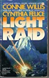 Front cover for the book Light Raid by Connie Willis