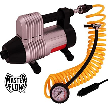 Masterflow 12v 3-in-1 Turbo-Boost Air Compressor/Inflator / Deflator