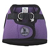 The Worthy Dog 21858-4134SM Printed Sidekick Pet Harness, Purple, Small