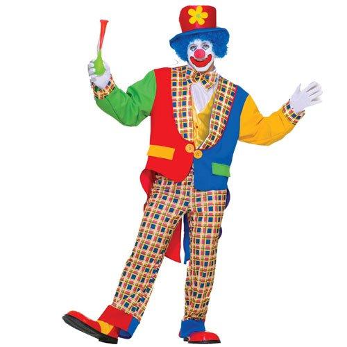 Happy Clown - Adult Costume (Clown Tailcoat Costume)
