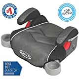 Graco TurboBooster Backless Convertible Car Seat with Cup Holders, Galaxy - Great Booster with Comfortable Cushion Base and Height-adjustable Armrests for Infants and Toddlers - Go...
