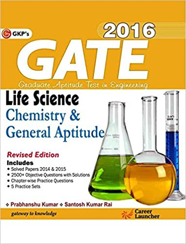 Gate Life Science Chemistry Book