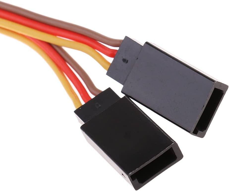 Fil de Câble Extension Y Servo 150MM 2-Way pour Remplacement de Pièces