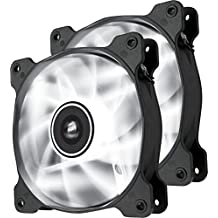 Corsair Air Series SP 120 Led White High Static Pressure Fan Cooling-Twin Pack (Co-9050030-WW)
