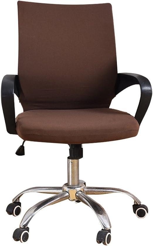 zyurong - Funda para silla de oficina (elástica, giratoria, funda ...