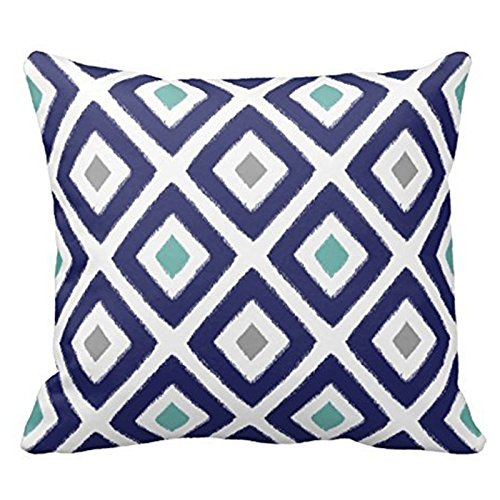 Aqua Decorative Pillow - 3