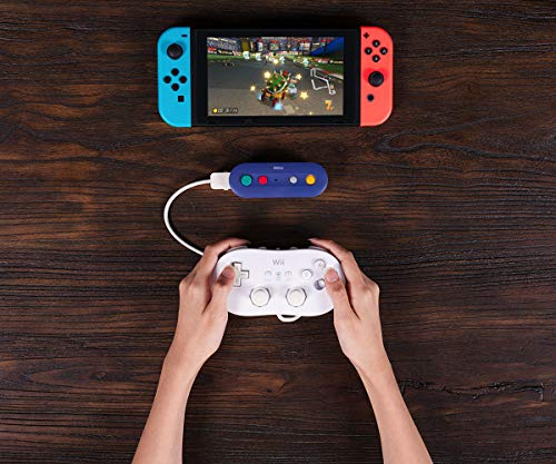 51St5b6Y6lL - 8Bitdo Gbros. Wireless Adapter for Nintendo Switch (Works with Wired GameCube & Classic Edition Controllers) - Nintendo Switch