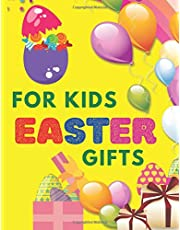 Easter Gifts For Kids: Easter Coloring Book For Toddlers Gifts For Girls Age 1-4 Kid 4-8
