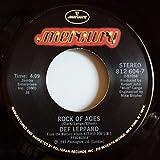 Def Leppard: Rock Of Ages / Billy's Got A Gun - Mercury - 7'' - USA