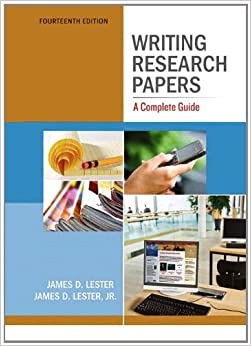 Writing research papers complete guide 14th edition