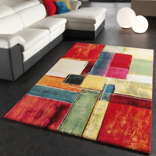 tapis moderne salon pas cher