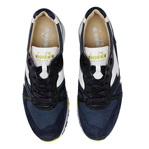Diadora Heritage - Sneakers N9000 H C SW per Uomo 60065 - Blu Profondo Gran Venta Venta En Línea De Cuota De Italia Bajo El Envío Salida De Precio Más Barato Aclaramiento Precio Más Bajo awcW3vCHD