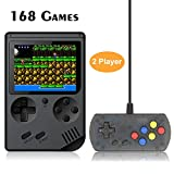 Best Kids Plug And Play Video Games - FAITHPRO Handheld Game Console with Built in 168 Review