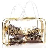 Olivia Garden NanoThermic Ceramic Ionic Round Thermal 4 Brushes Kit
