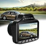 2 in 1 Black 720P HD LCD Screen Car DVR Video Camera Recorder...