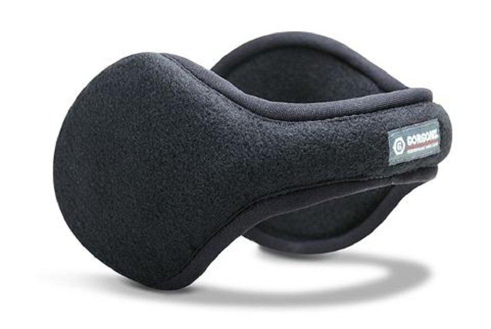 Gorgonz By 180s Performance Work Gear Basic Fleece Ear Warmers (Black) by Gorgonz