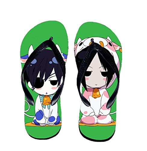 Bromeo Black Butler Anime Unisex Flip Flops Chanclas 57