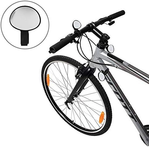 Nero Formulaone Facile da Montare Girevole Regolabile in Bicicletta Mountain Road Bike Specchietto retrovisore Manubrio per Bicicletta retrovisore Bici