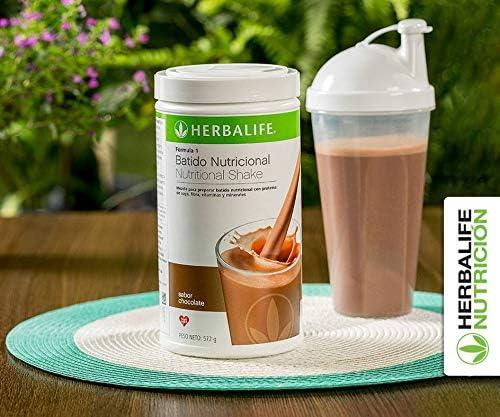Herbalife Batido Formula 1, Chocolate Cremoso - 550g: Amazon.es: Salud y cuidado personal