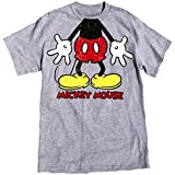 DISNEY BOYS T-Shirt, Gotta Love Mickey Mouse, S (6-7), Grey Heather