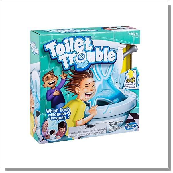 Toilet Game That Sprays Water In Your Face Blue Crystal Sky