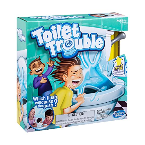 Hasbro Games Toilet Trouble by Hasbro