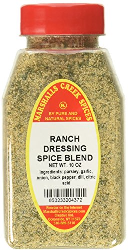 Marshalls Creek Kosher Spices RANCH DRESSING SPICE BLEND NO SALT, 10 OZ