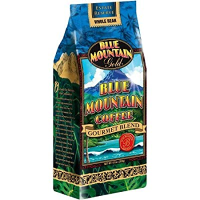 Blue Mountain Gold Gourmet Blend Whole Bean Coffee, 10 oz