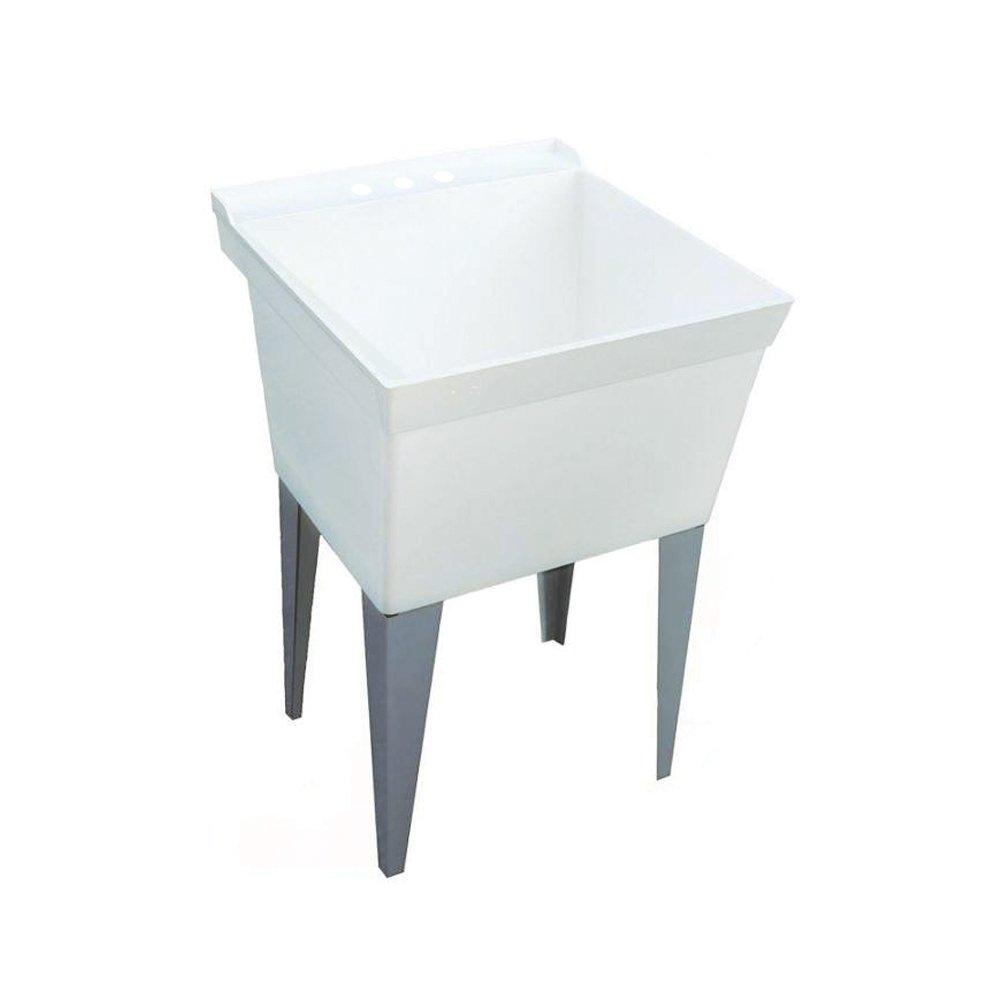 Swan MF0000FM.001 Laundry Tub with 4 Metal Legs