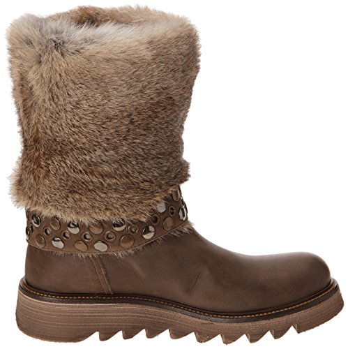 Beige Lapin Camel Fru Taupe femme Bottes Ground Alanis it qw061wI